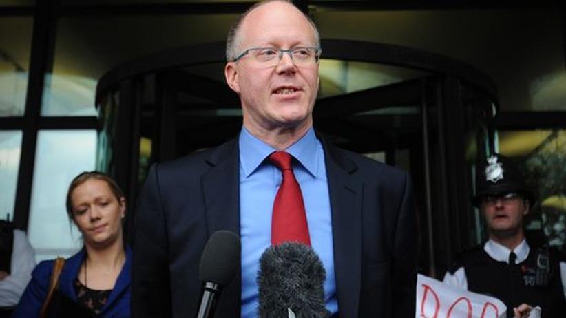 Rundfunk: BBC-Chef George Entwistle tritt zurück