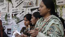 Neu Delhi Frauen Gewalt Vergewaltigung Indien