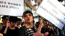 Protest gegen sexuelle Gewalt in Mumbai
