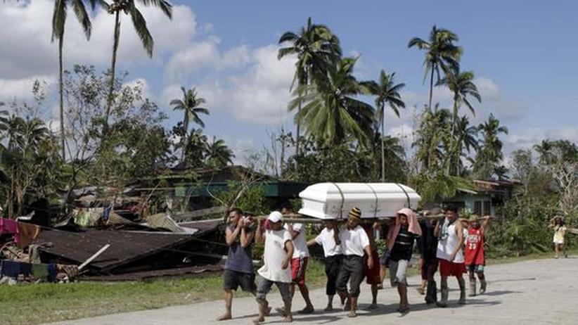Philippinen: Opferzahl nach Taifun steigt über 500
