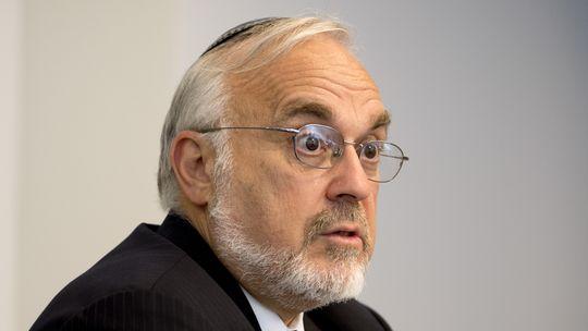 Rabbi Abraham Cooper, stellvertretender Direktor des Simon-Wiesenthal-Zentrums in Los Angeles