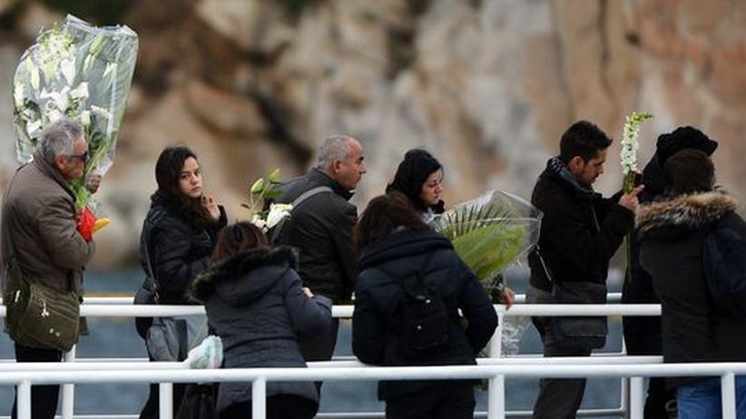 """Schiffsunglück: Italien gedenkt der """"Costa""""-Katastrophe"""