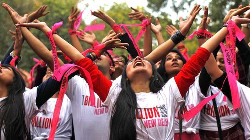 One Billion Rising: Weltweiter Protest gegen Gewalt gegen Frauen