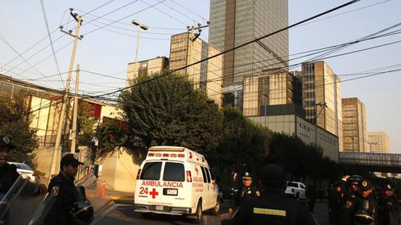 Mexikanischer Ölmulti: Anschlag oder Unfall beim Ölkonzern Pemex?
