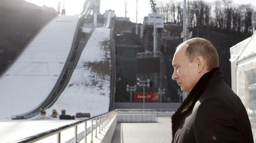 Winterspiele: Künstliches Olympia im Badeort
