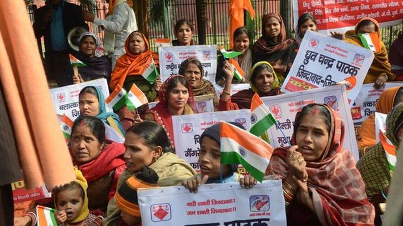 Gewalt: Indien kann die Frauen nicht schützen