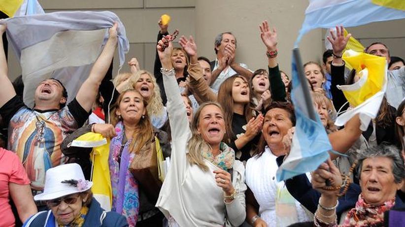 Franziskus: Argentinier feiern ihren Papst