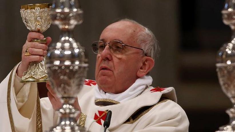 Gründonnerstagspredigt: Papst schickt seine Kirche an den Rand der Gesellschaft