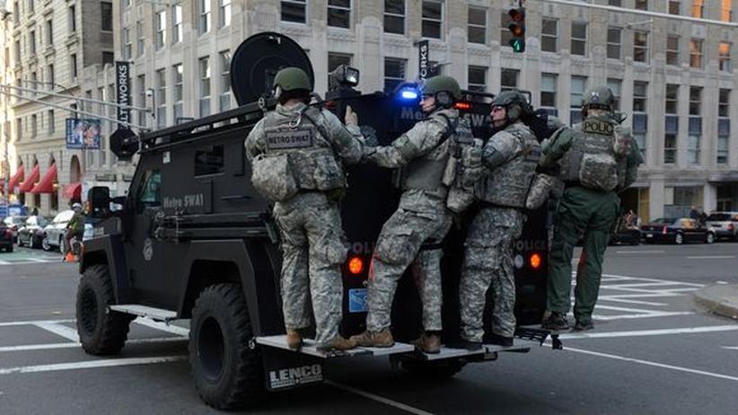 Terrorakt in USA: Bombenanschläge auf den Boston-Marathon