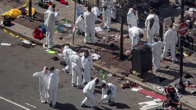 Anschläge in Boston: Eieruhr-Sprengsatz erschwert Tätersuche