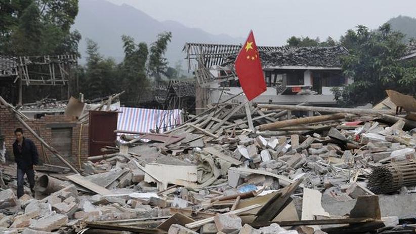 """Erdbeben in China: """"Es war, als würde der Berg lebendig"""""""