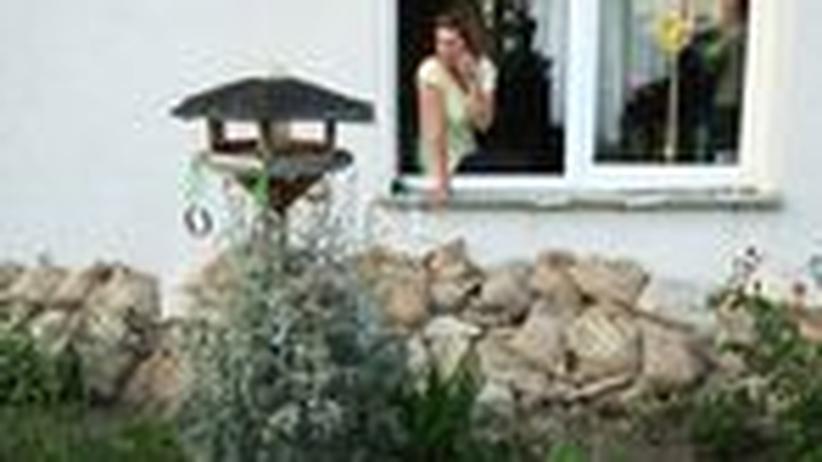 Flut in Sachsen: In Wust kehrt nach dem Hochwasser wieder der Alltag ein