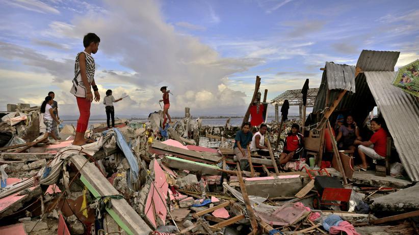 Taifun Haiyan: Als sei ein riesiger Rasenmäher darübergefahren