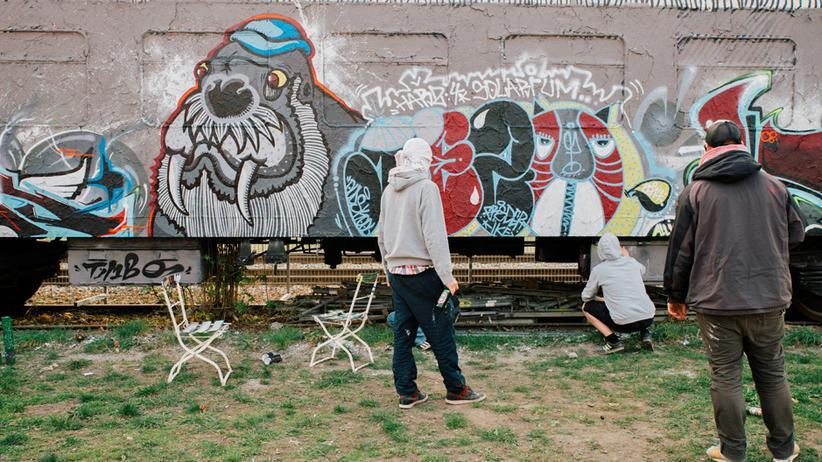 Graffiti-Sprüher: Nur legal ist langweilig