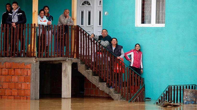 Hochwasser Flut Serbien