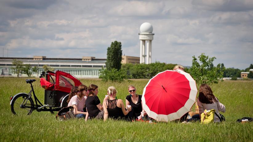 Tempelhofer Feld: Das Tempelhofer Feld in Berlin