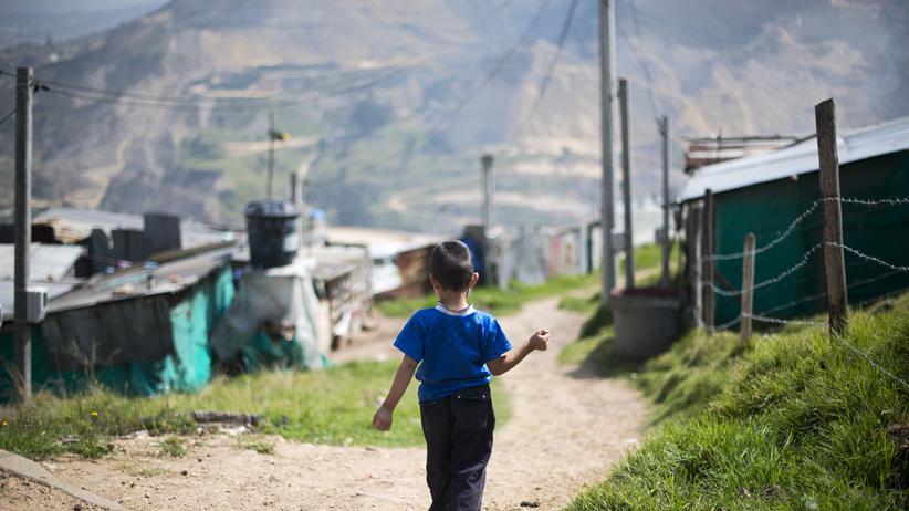 Kolumbien: Für eine Stunde den Bürgerkrieg vergessen