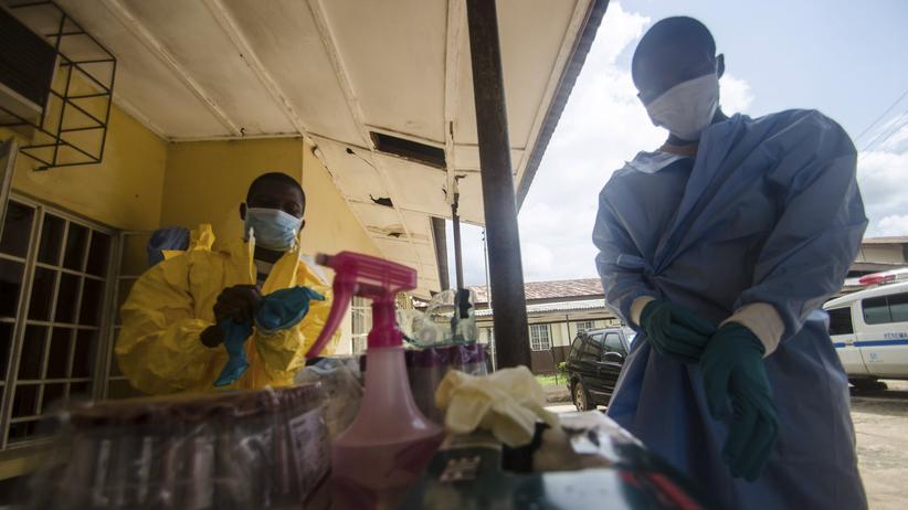 Ebola-Epidemie: Infizierter Arzt aus Sierra Leone ist tot