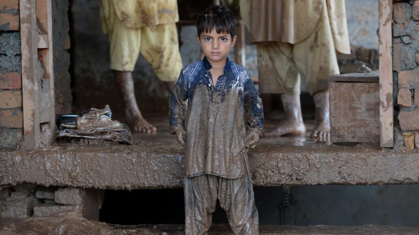 Flut Hochwasser Indien Pakistan Kaschmir