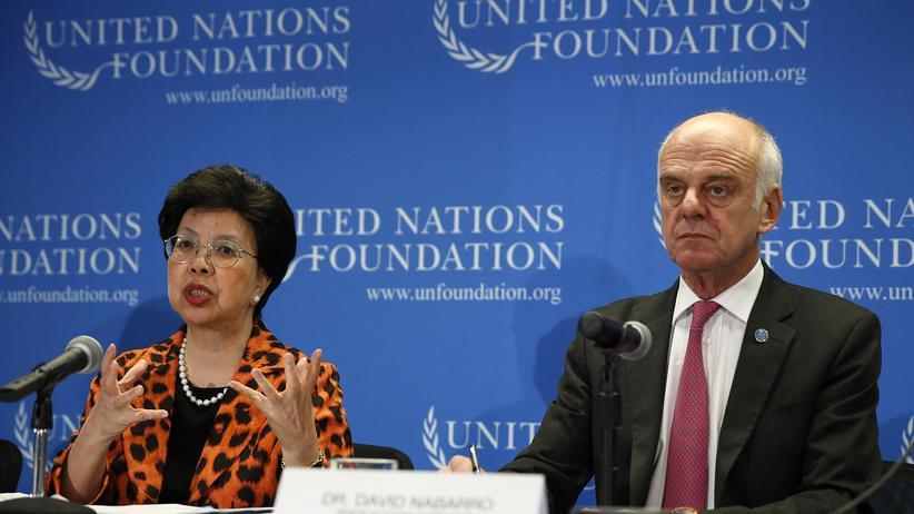 Ebola-Epidemie: Margaret Chan, Generaldirektorin der Weltgesundheitsorganisation (WHO)