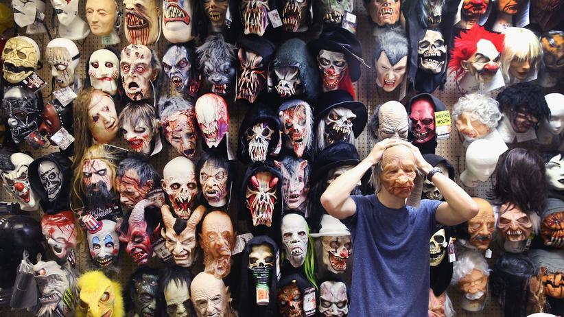 Ein Fachgeschäft für Masken und Kostüme in Chicago, Illinois