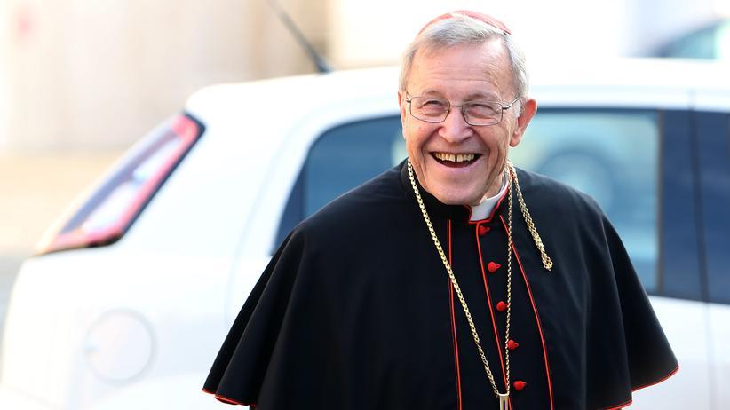 Kardinal Walter Kasper: Kardinal Walter Kasper bei der Eröffnung der Familiensynode Anfang Oktober 2014