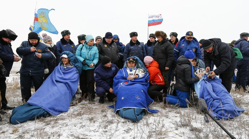 Alexander Gerst: Deutscher Astronaut ist zurück auf der Erde