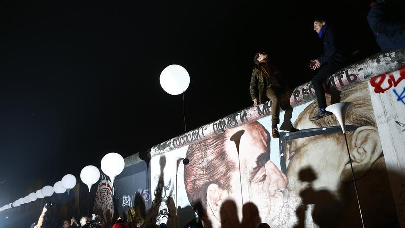 Mauerfall-Jahrestag in Berlin: Als die Ballons in den Himmel stiegen