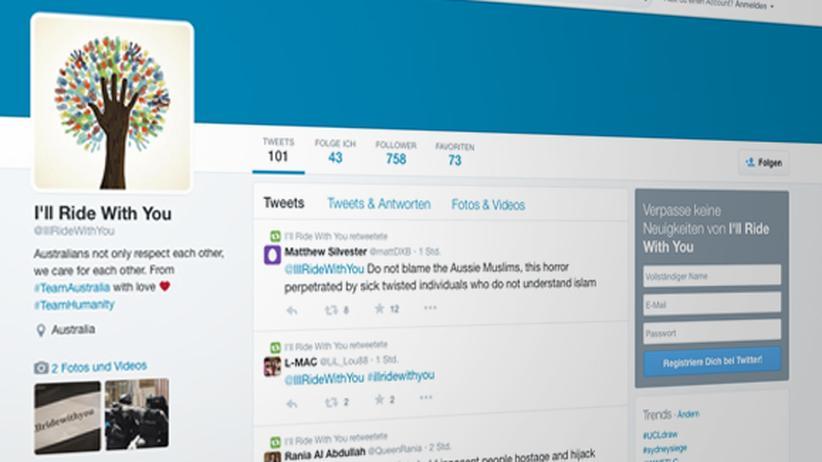 #Illridewithyou: Twittern für muslimische Mitbürger