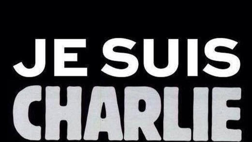 """#JeSuisCharlie: Solidarität mit """"Charlie Hebdo"""""""