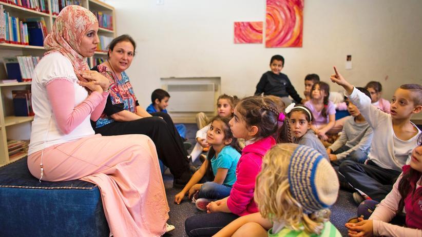 Araber und Juden in Israel: In der Hand-in-Hand-Schule für jüdisch-arabische Erziehung in Jerusalem