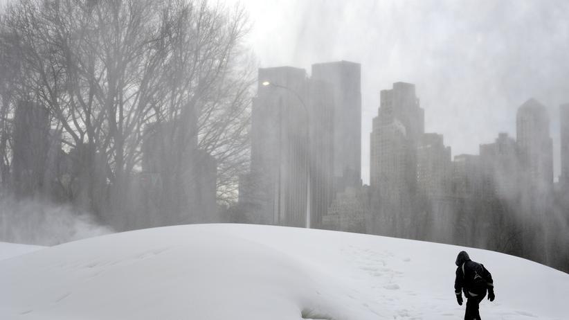Blizzard: Gewaltiger Schneesturm bedroht US-Ostküste