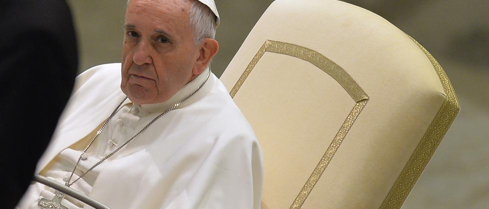 Papst Franziskus in Rom