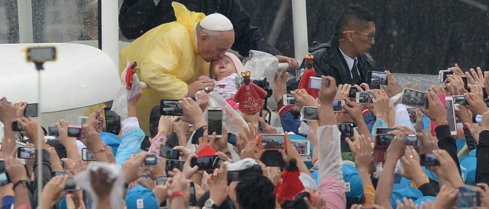 Papst in Manila