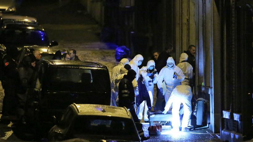 Verviers Belgien Terror
