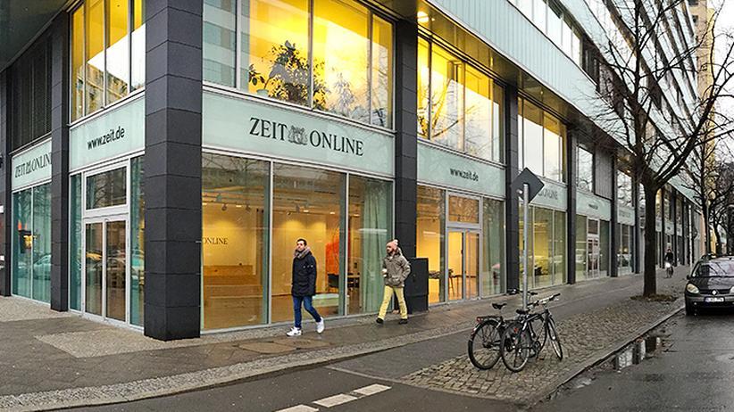 Das Büro von ZEIT ONLINE in Berlin
