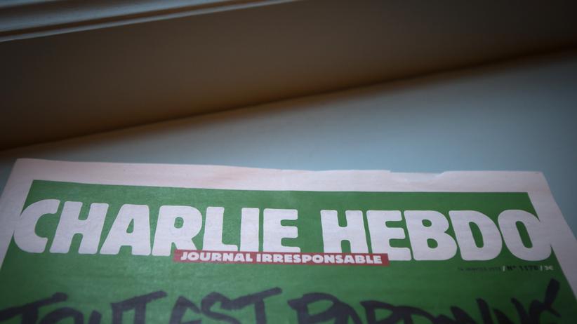 Ausgabe Satiremagazin Charlie Hebdo
