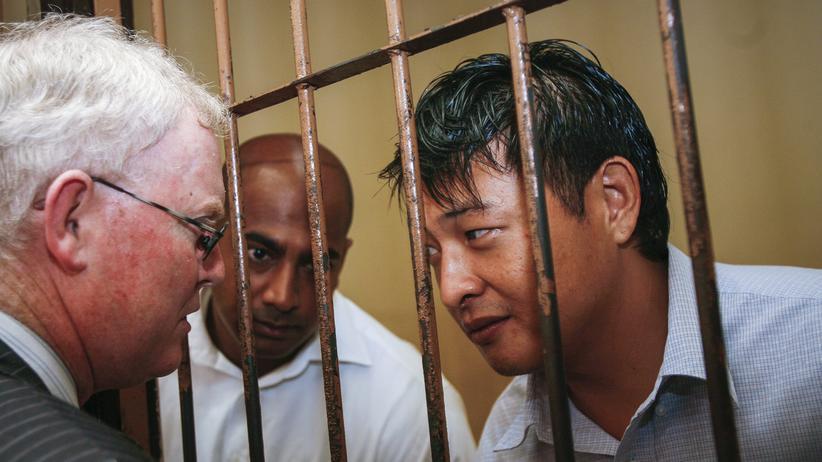 Andrew Chan and Myuran Sukumaran Verurteilung Indonesien