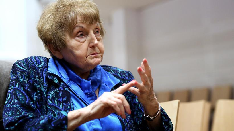 Die Holocaust-Überlebende Eva Kor