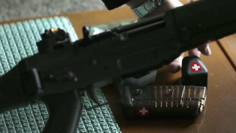 Schweizer Schützen: Ende Feuer!