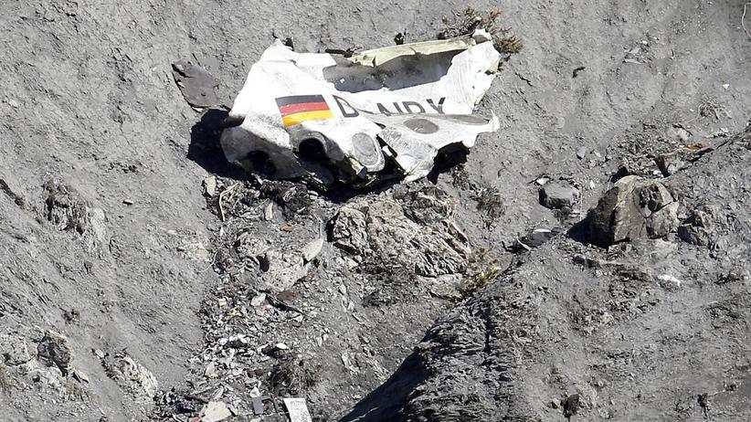 Germanwings Airbus Blackbox Absturz