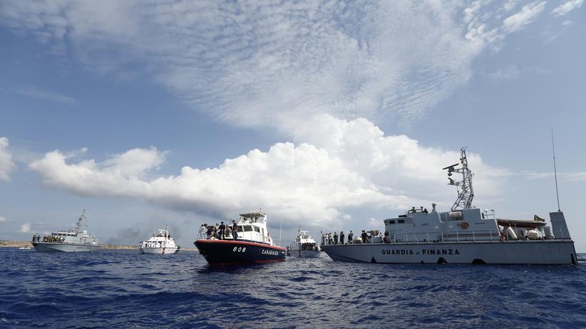 Mittelmeer Küstenwache Italien