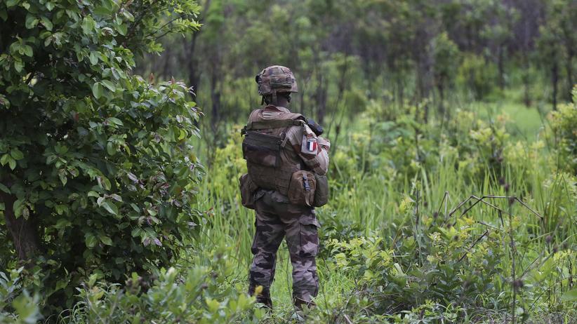 Zentralafrikanische Republik: Ein französischer Soldat in der Zentralafrikanischen Republik (Archivbild)