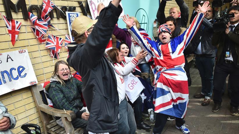 Royal Baby Großbritannien