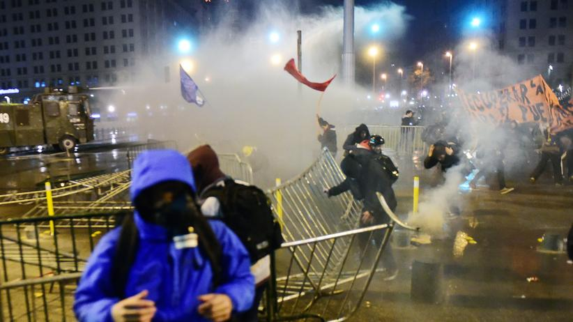 Chile: Randale bei Studentenprotesten