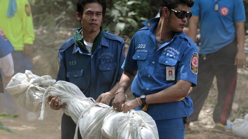 Thailand Massengrab Rohingya