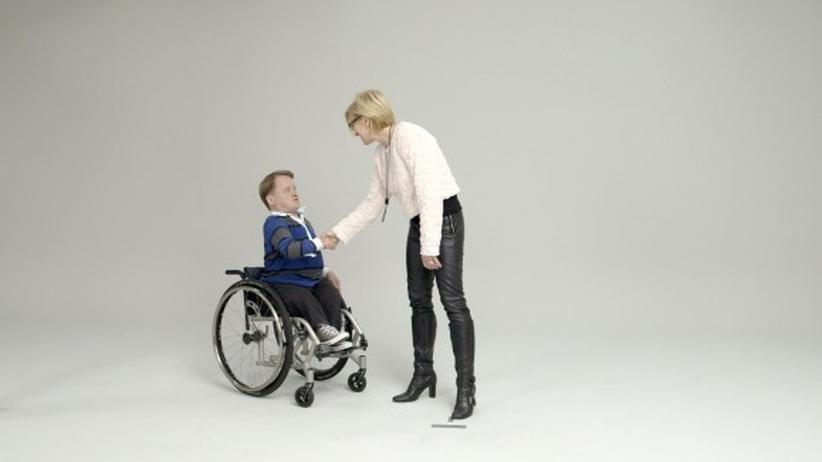 Behinderte Menschen: Wenn nur dieses Unbehagen nicht wäre