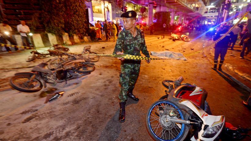 Thailand: Tote durch Bombenanschlag in Bangkok