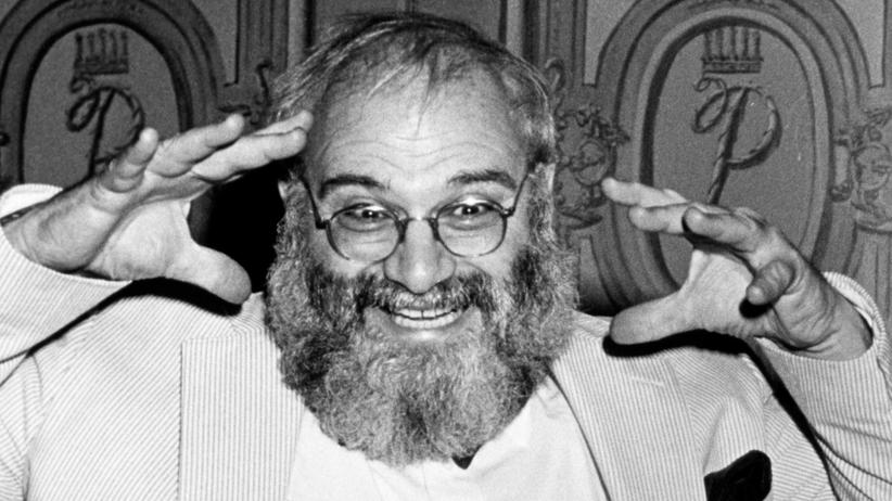 "Neurologie: Oliver Sacks bei der Filmpremiere zu ""Awakenings"" in New York 1990"