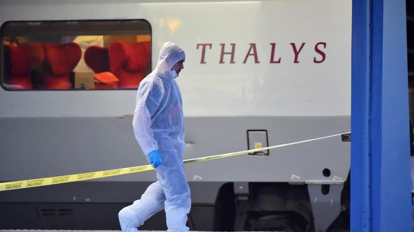 Frankreich Amerikaner überwältigen Amokläufer in Thalys